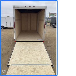 2020 Wells Cargo 6x12RFV Enclosed Cargo Trailer