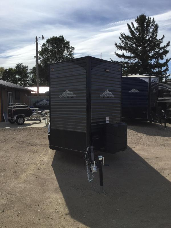 2020 Glacier 6.5x14 Ice/Fish House Trailer