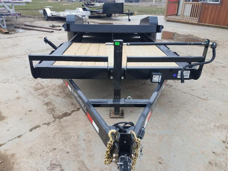 2019 Iron Bull 83 x 22 Tiltbed Equipment Trailer