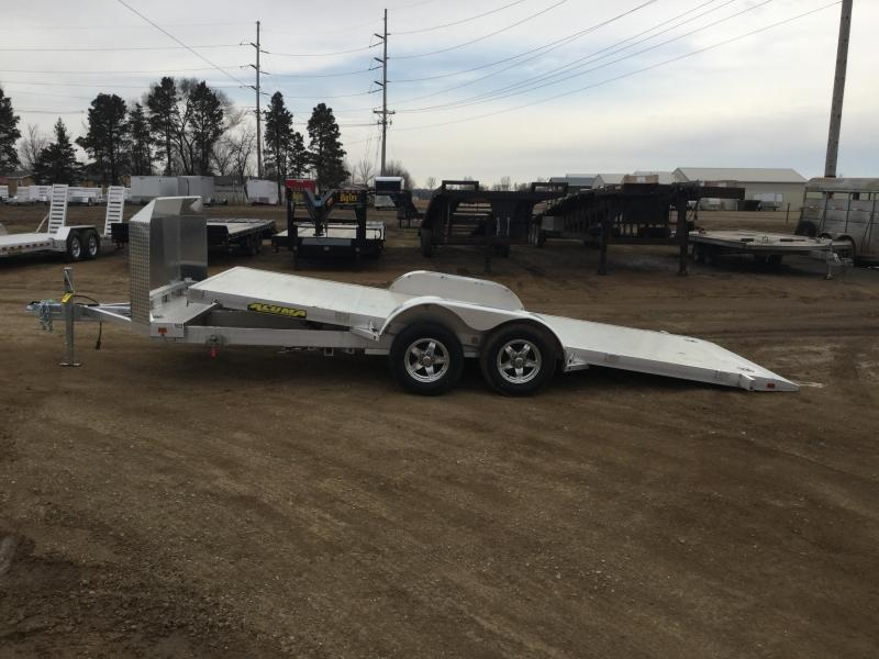 2021 Aluma 82x18 Tilt Car / Racing Trailer