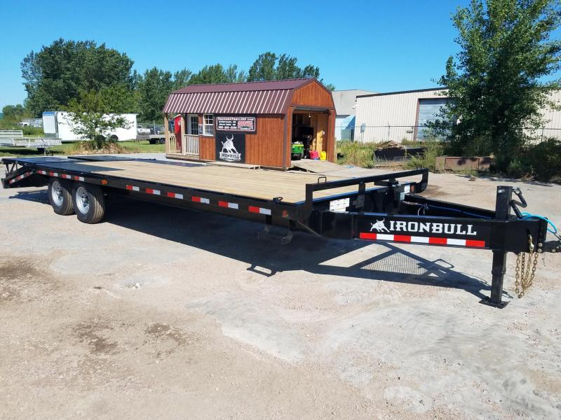 2019 Iron Bull 8.5 X 25' Equipment Trailer