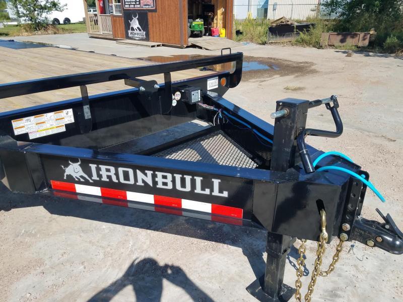 2019 Iron Bull 8.5 X 25' Equipment Trailer