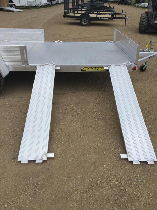 2021 Aluminum 81x14 Utility Trailer
