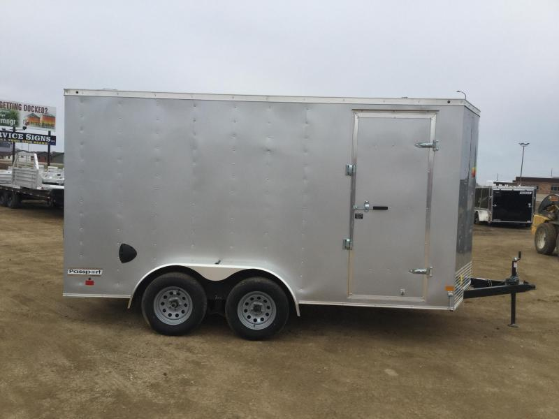 2020 Haulmark 7x14PP Enclosed Cargo Trailer