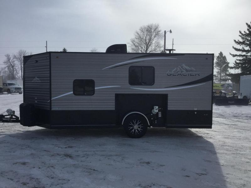2018 Glacier 165RD Ice/Fish House Trailer