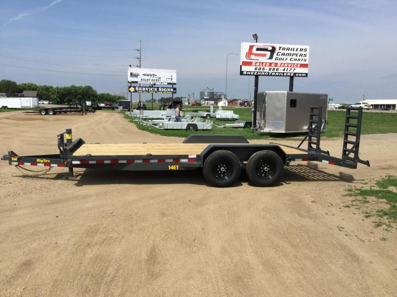 2020 Big Tex Trailers 14ET Equipment Trailer
