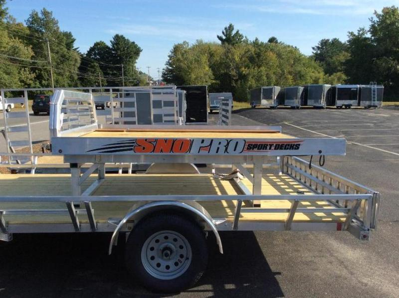 2018 SnoPro Trailers Sled Deck