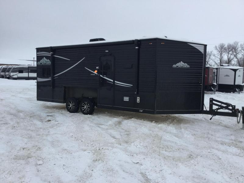 2020 Glacier 20' RV Ice/Fish House Trailer