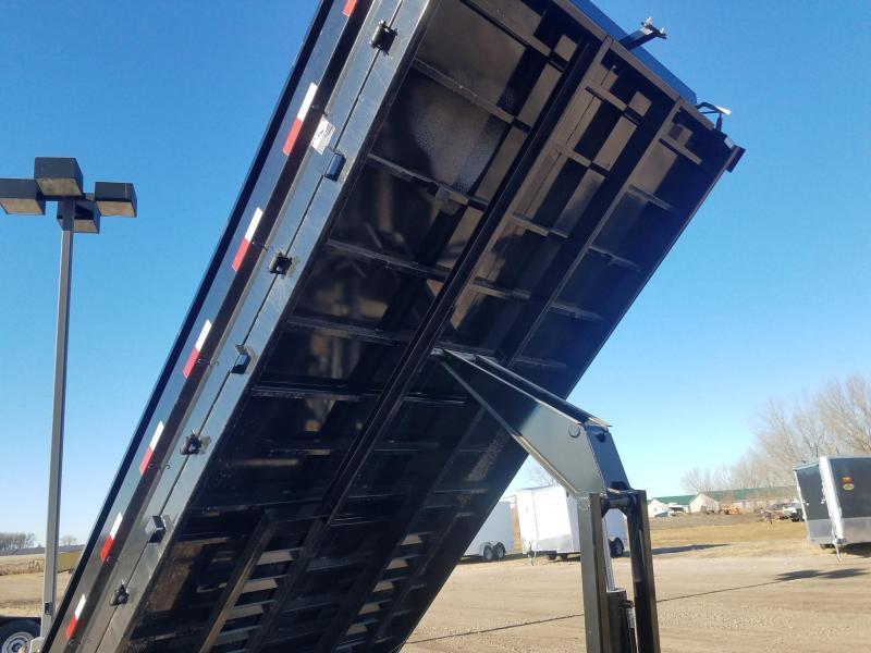 2020 Iron Bull 96 x 16 Deckover Dump Trailer