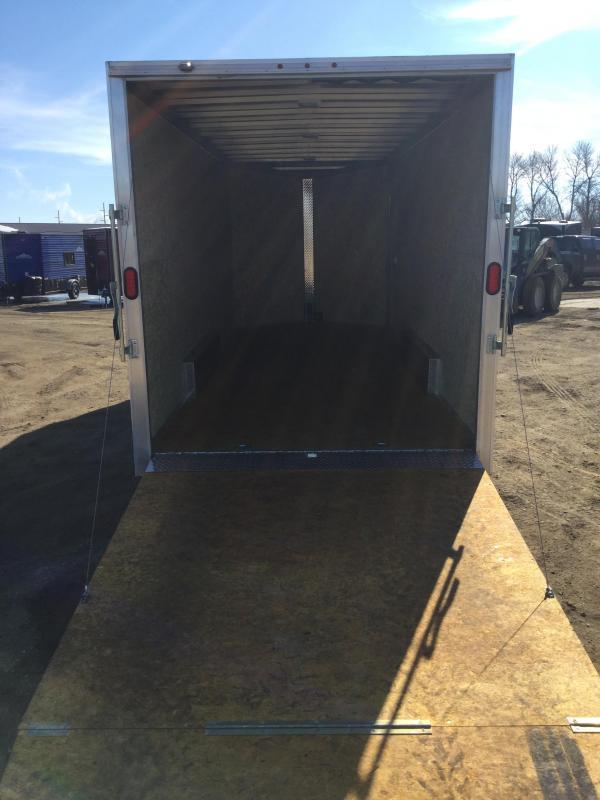 2018 Alcom-Stealth 7.5x20 Enclosed Cargo Trailer
