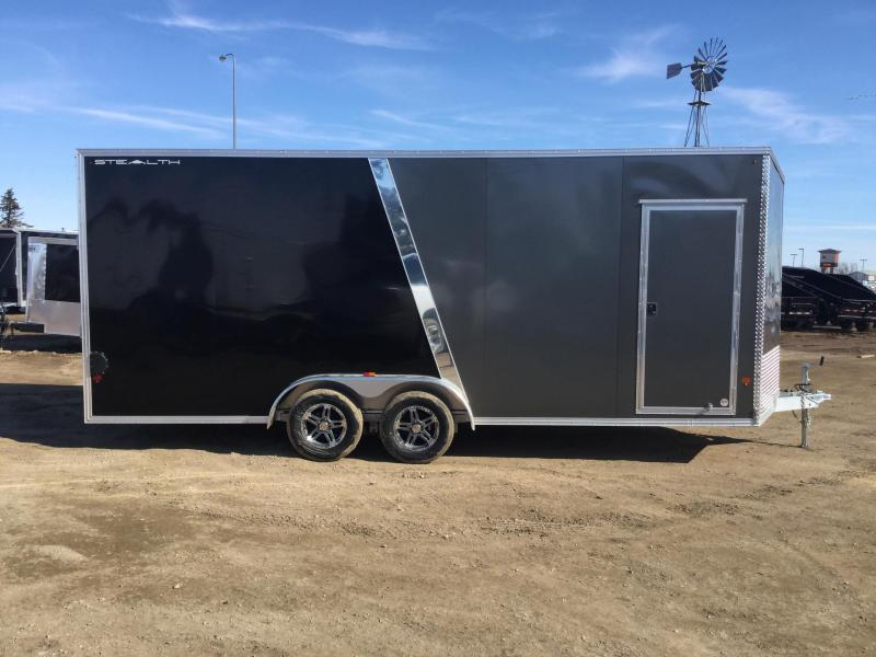 2018 Alcom-Stealth 7.5x20 Enclosed Cargo Trailer