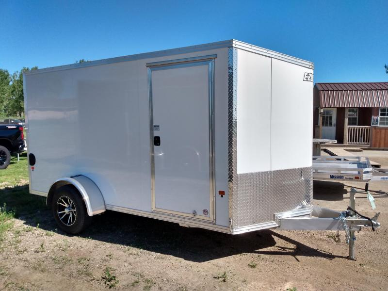 2019 Alcom-Stealth 6x12 Aluminum Frame Enclosed Cargo Trailer