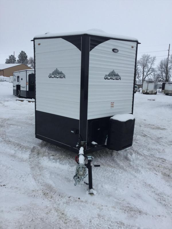 2020 Glacier 17RV Ice/Fish House Trailer
