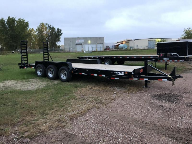 2018 DCT 24ft Equipment Trailer