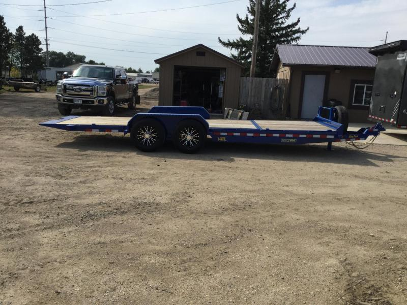 2020 Big Tex Trailers 14TL 22' Tiltbed Equipment Trailer