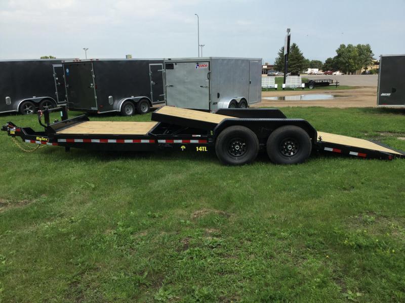 2020 Big Tex Trailers 22FT Tilt Equipment Trailer