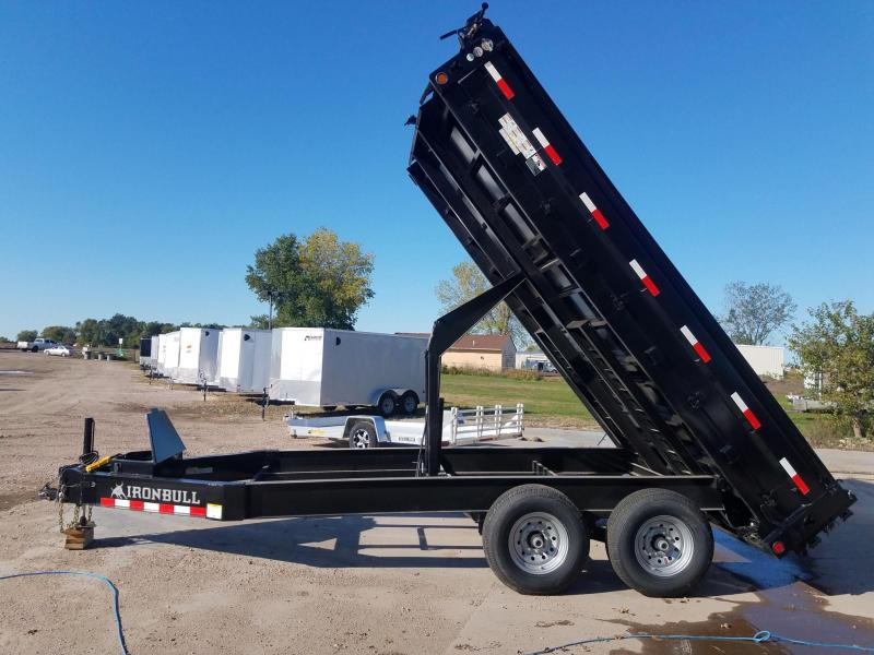 2020 Iron Bull 96 x 14 Deckover Dump Trailer
