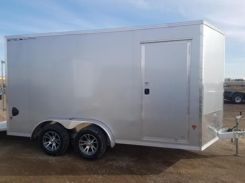 2020 Alcom-Stealth 7.5 x 14 Enclosed Cargo Trailer