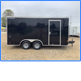 2020 Wells Cargo 8.5x16RFV Enclosed Cargo Trailer