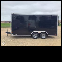 2020 Wells Cargo 8.5x16RFV Enclosed Cargo Trailer