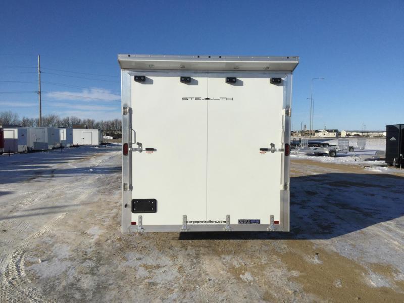 2020 Alcom-Stealth 8x20 SnoBear Trailer Enclosed Cargo Trailer