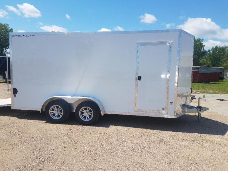 2019 Alcom-Stealth 7x16 Enclosed Cargo Trailer