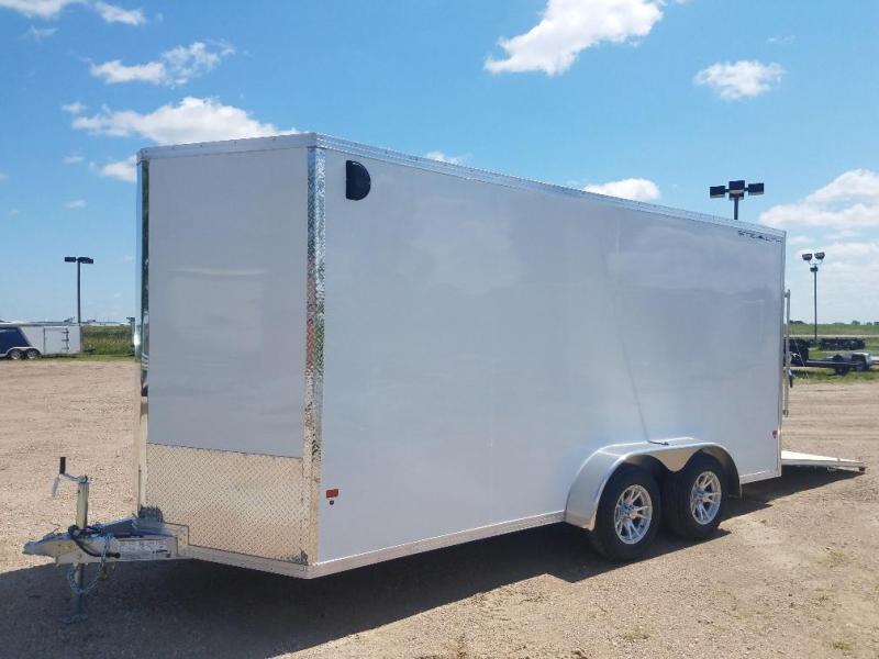 2019 Alcom-Stealth 7x16 Enclosed Cargo Trailer