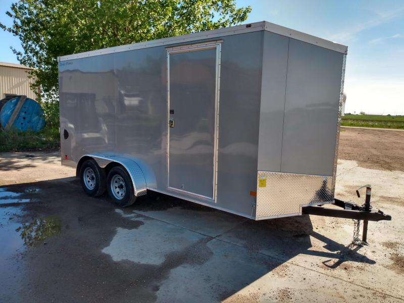 2020 Wells Cargo 7x16 Enclosed Cargo Trailer