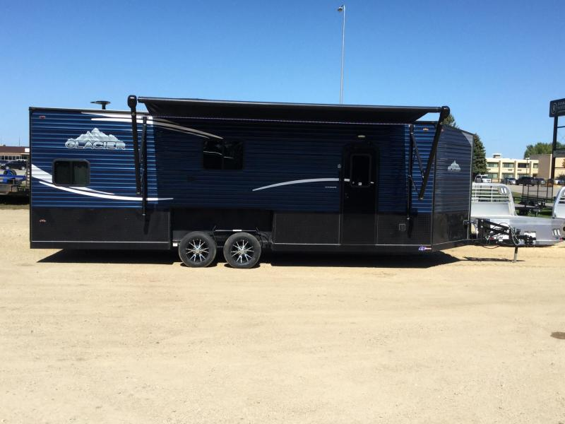 2020 Glacier 24' RV Ice/Fish House Trailer