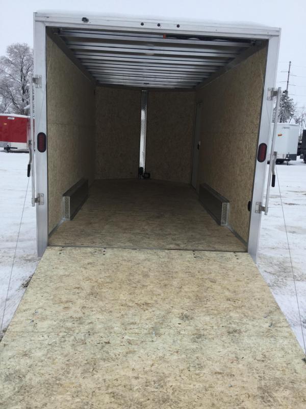 2020 Alcom-Stealth 7.5x16 Enclosed Cargo Trailer