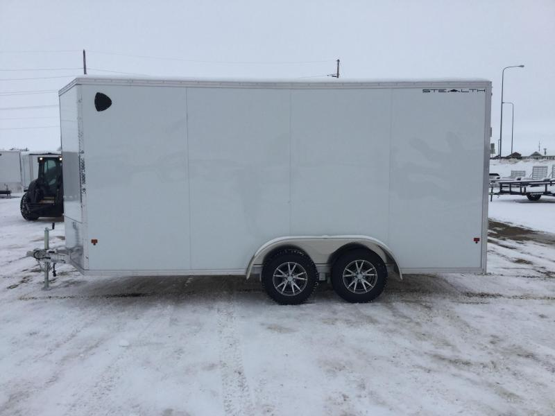 2020 Alcom-Stealth 7.5x16 Enclosed Cargo Trailer