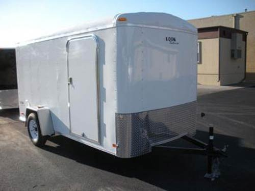 Look Trailers EDLC6X14TE2 Round Top