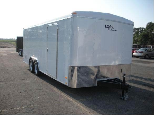 Look Trailers VRLC8.5X24TE2
