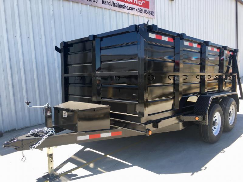 R & J Trailers Inc 6 x 12 10K Dump