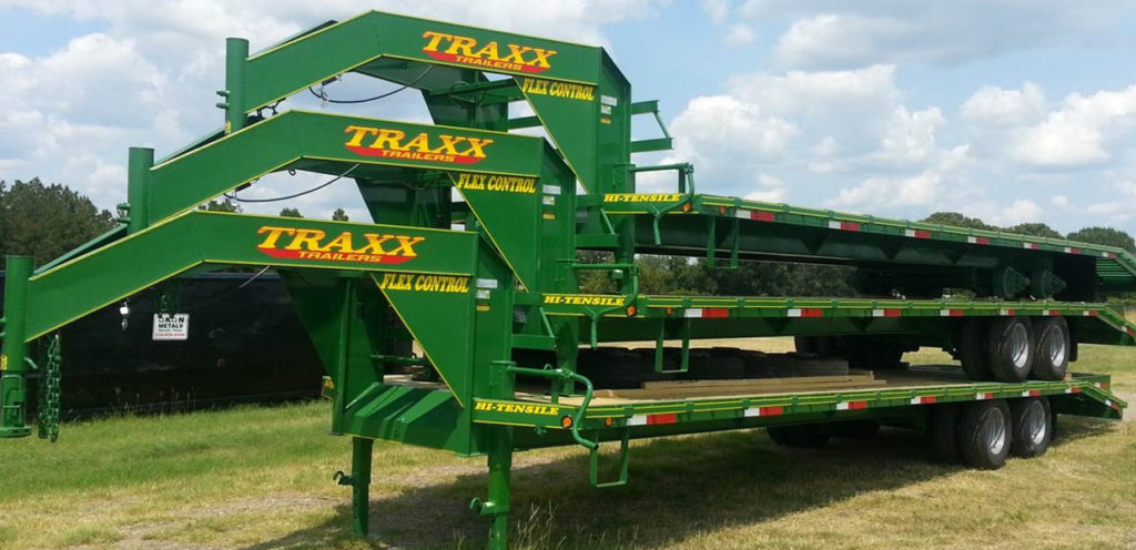 Traxx Trailers 32TD Heavy Duty Gooseneck