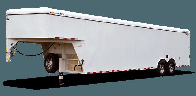 "CM Trailers Cargo Metro 26' x 7'10"" x 6'6"" w/ 2-7000# axles, 16"" tires & 8-hole wheels"