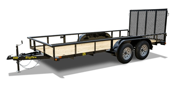 Big Tex Trailers 45ES-14