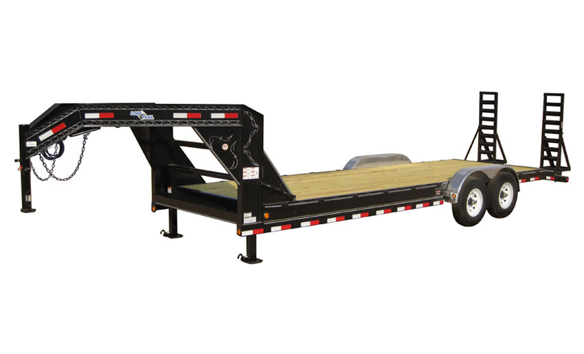 "Load Trail GB10 - Gooseneck Carhauler 9,990 Lb w/Drop Axles & 6"" Channel Frame"