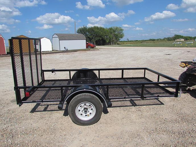 East Texas Trailers Econo Single Axle 5x10