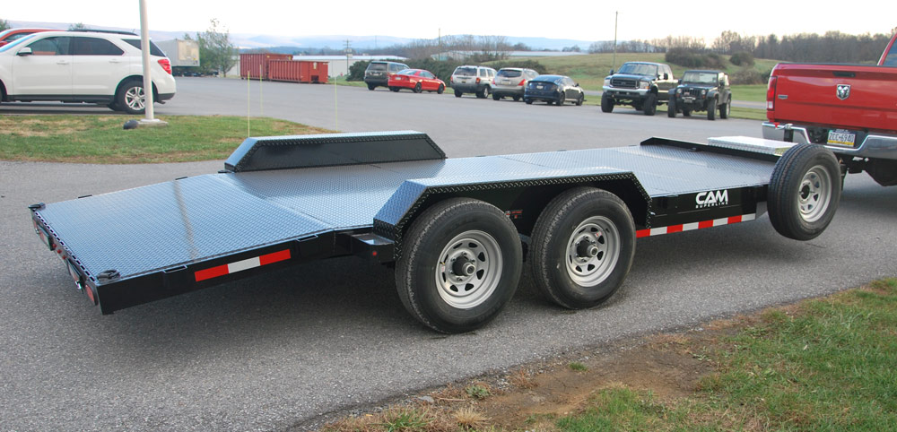 2020 Cam Superline 3.5 Ton Car Hauler 18FT Wood Deck