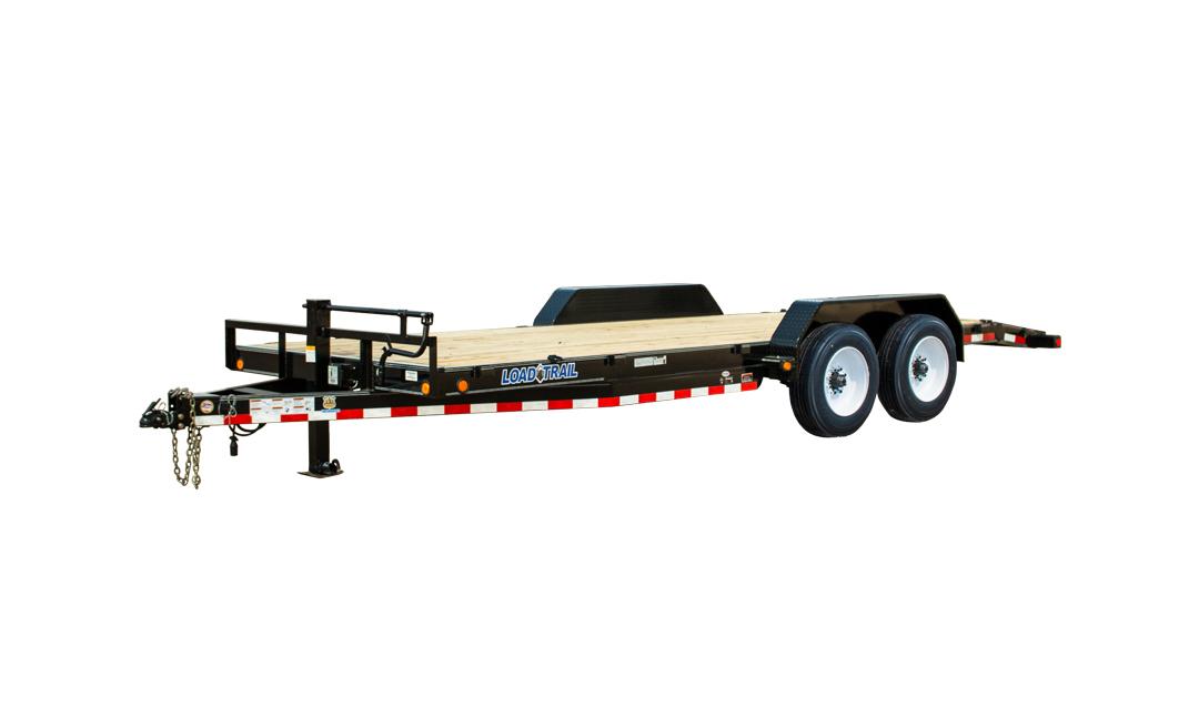 """Load Trail CH16 - Carhauler 16,000 Lb w/8"""" Channel Frame"""