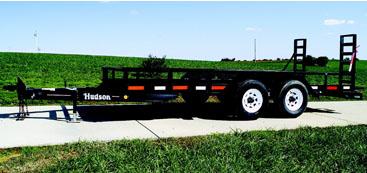 Hudson Trailers HBC10 16' Standard - 5 Ton Capacity