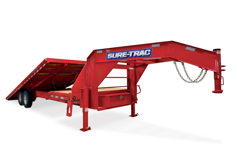 2020 Sure-Trac 102x22+4 Deckover Tilt Tandem GN 15K
