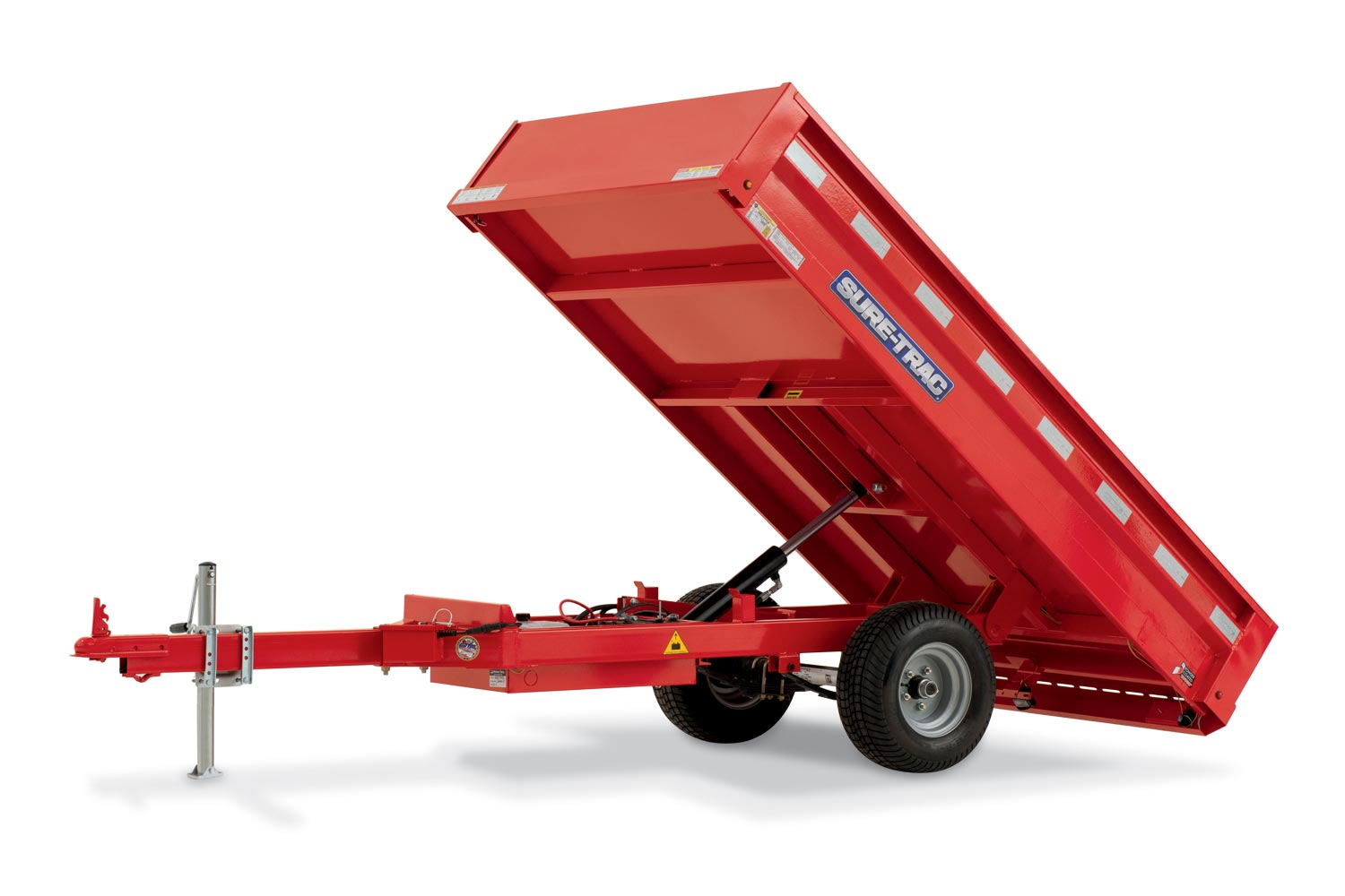 2019 Sure-Trac 4.5 x 8ft Utility Dump Trailer