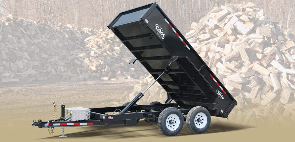 2019 Cam Superline 6 X 10 Advantage Series Low Profile Dump Trailer