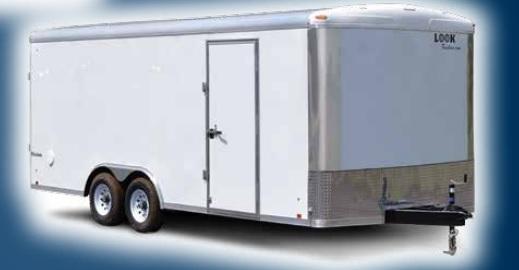 2021 Formula Trailers Triumph Slope Nose Cargo / Enclosed Trailer