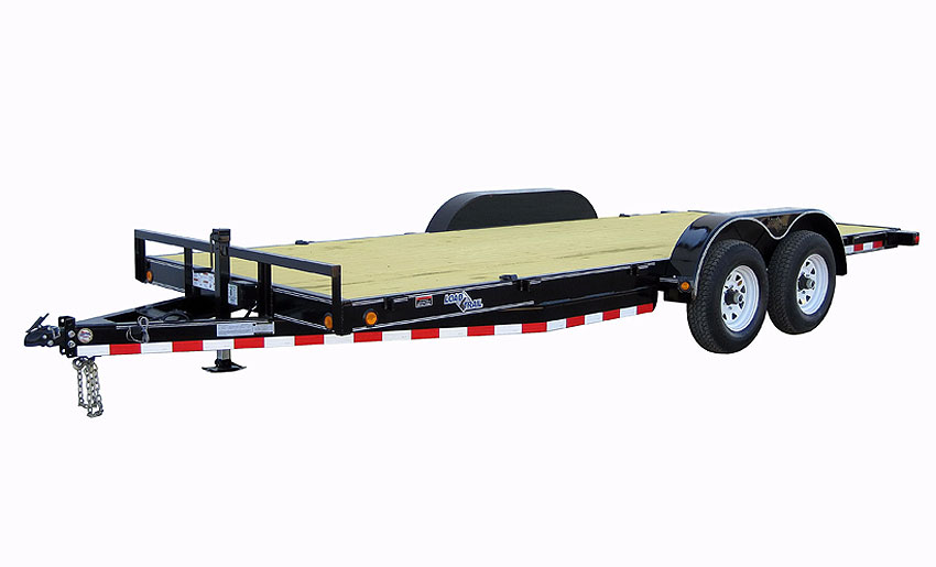 "2018 Load Trail 80"" X 18' Tandem Axle Carhauler 6"" I-beam Car / Racing Trailer"