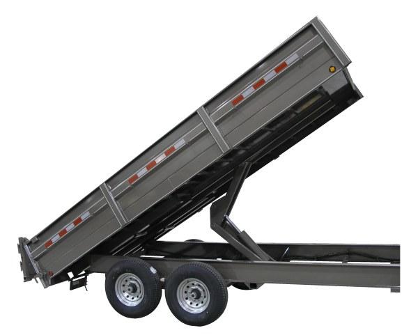 Delta Trailers 27BD 7-Ton Wide Body Dump Trailer