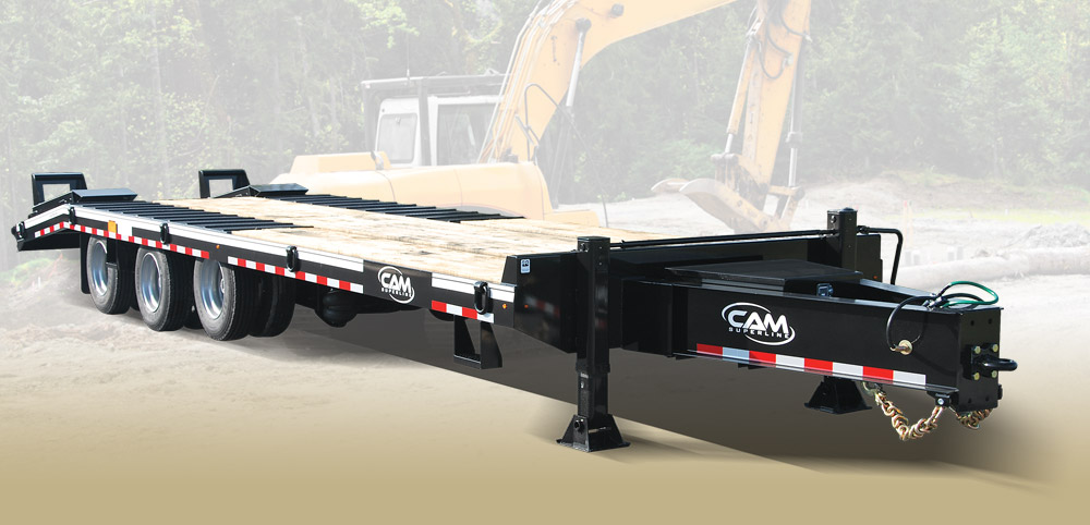 2020 Cam Superline 20 Ton Deckover Heavy Duty 8.5 x 20 + 5