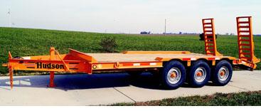 Hudson Trailers HS16 - 9 Ton Capacity Lowboy Deckover